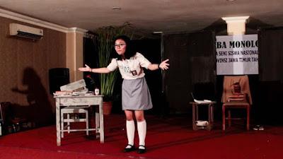 Teater Monolog di Jawa Timur? ya Teater Catur!