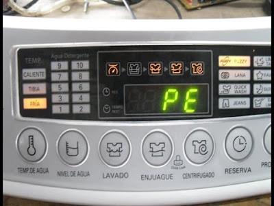 رموز اعطال غسالة ال جي اتوماتيك  LG washing machine Error Codes