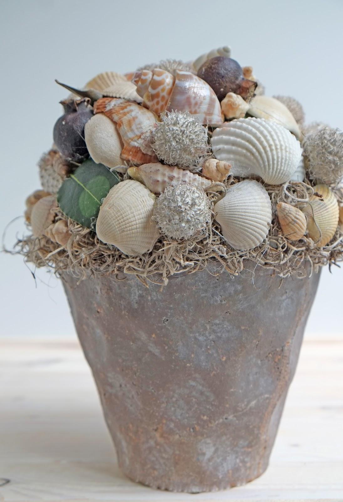 Diy: decoratie met schelpen