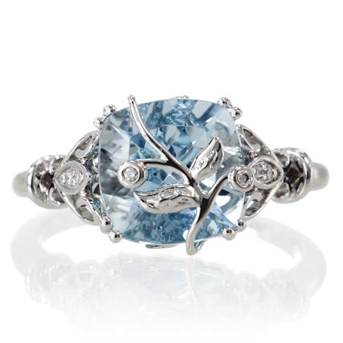 Aquamarine engagement rings, is that good?