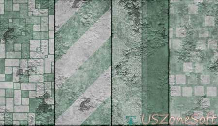 Peeling Geen Grunge Photoshop Line Patterns Beautiful Stylish personal commercial business premium design .pat or .zip file free download