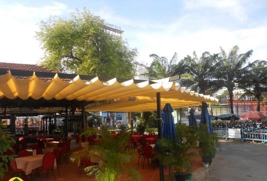 Image result for mái tôn cho quán cafe