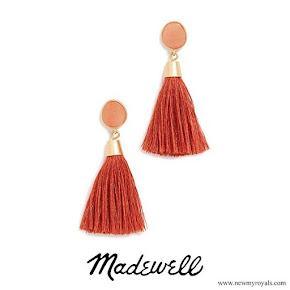 Meghan Markle wore Madewell Stone and Tassel Earrings