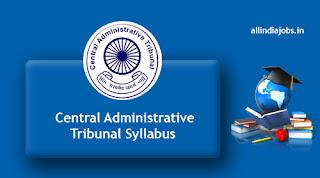 Central Administrative Tribunal Syllabus