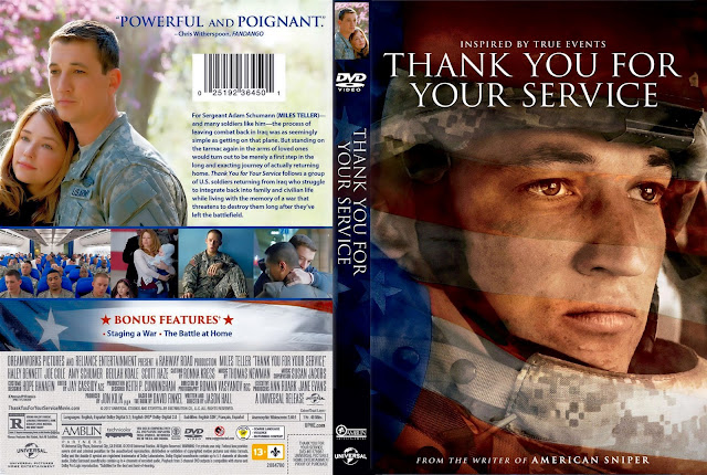 Thank You For Your Service DVD Cover