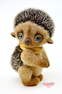 Künstlerteddys, Künstlerbären, Teddys, teddies, artist teddies, teddies with charm, NatalKa Creations, buy teddy, artist teddy buy, hedgehog, Igel,Teddybär kaufen, авторская коллекция тедди, мишки тедди, еж тедди, ежик