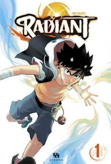 Critique Manga Radiant