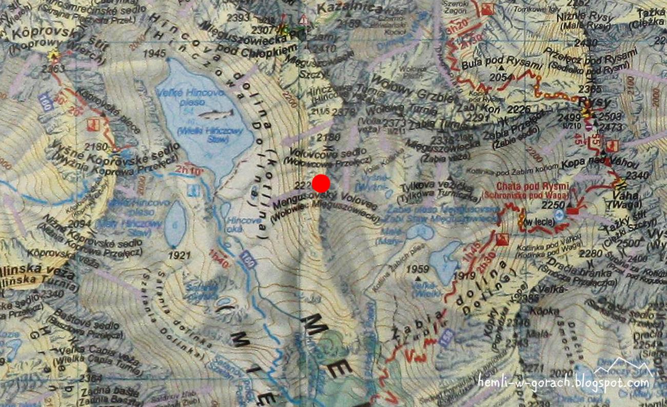 Wołowiec Mięguszowiecki na mapie