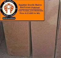 Egyptian Granite Red  Forsan staires