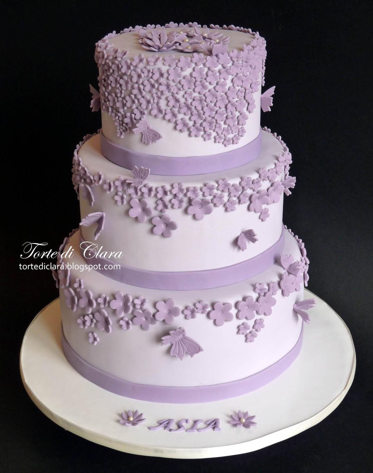 Famoso Torte di Clara: Torta Cresima (2) KN58