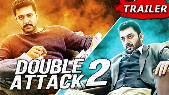 Double Attack 2 2017 Hindi Dubbed 480p HDRip 400MB