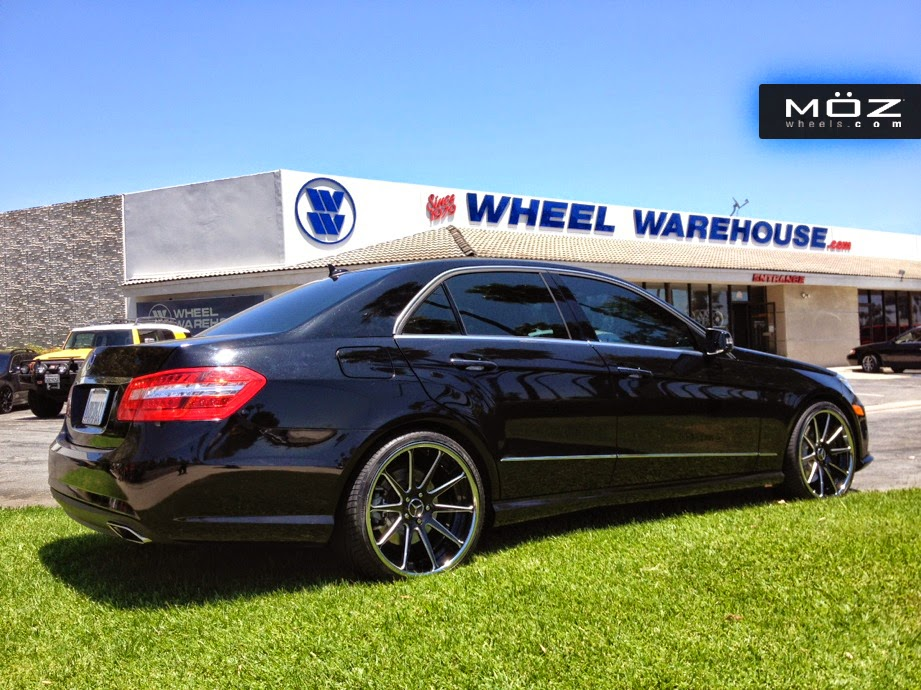 mercedes benz w212 e63 amg on moz wheels benztuning. Black Bedroom Furniture Sets. Home Design Ideas