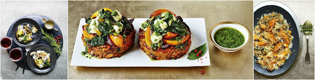 New Christmas vegetarian dishes from M&S Food