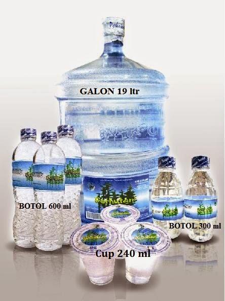 jual air minum kemasan galon 19 liter, jual air minum kemasan botol 600 ml, jual air minum kemasan gelas cup 240 ml