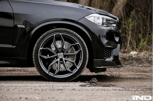 A Menacing BMW X5 M Construct with the Aid of iND Distribution