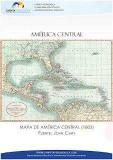Mapa de América Central (1803)
