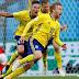 Suécia vence Suíça e chega às quartas da Copa depois de 24 anos