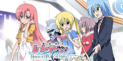 Minutos extras en la edicion DVD de las películas Negima! Anime Final y Hayate no Gotoku! Heaven is a Place on Earth