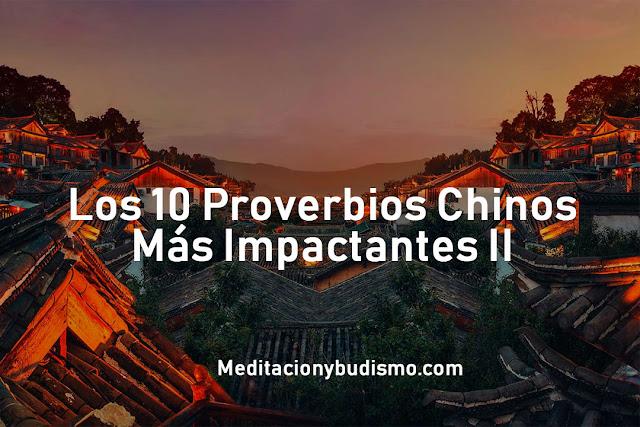 10 Proverbios Chino II