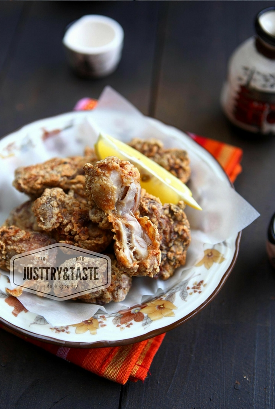 Resep Juicy Chicken Karaage