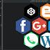 Auto hexagonal CSS Grid Layout V3 en panal