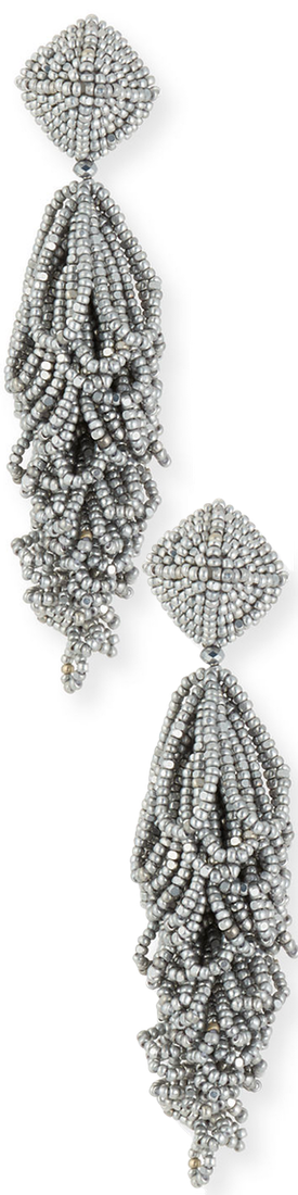 Sachin & Babi Lulu Seed Bead Earrings