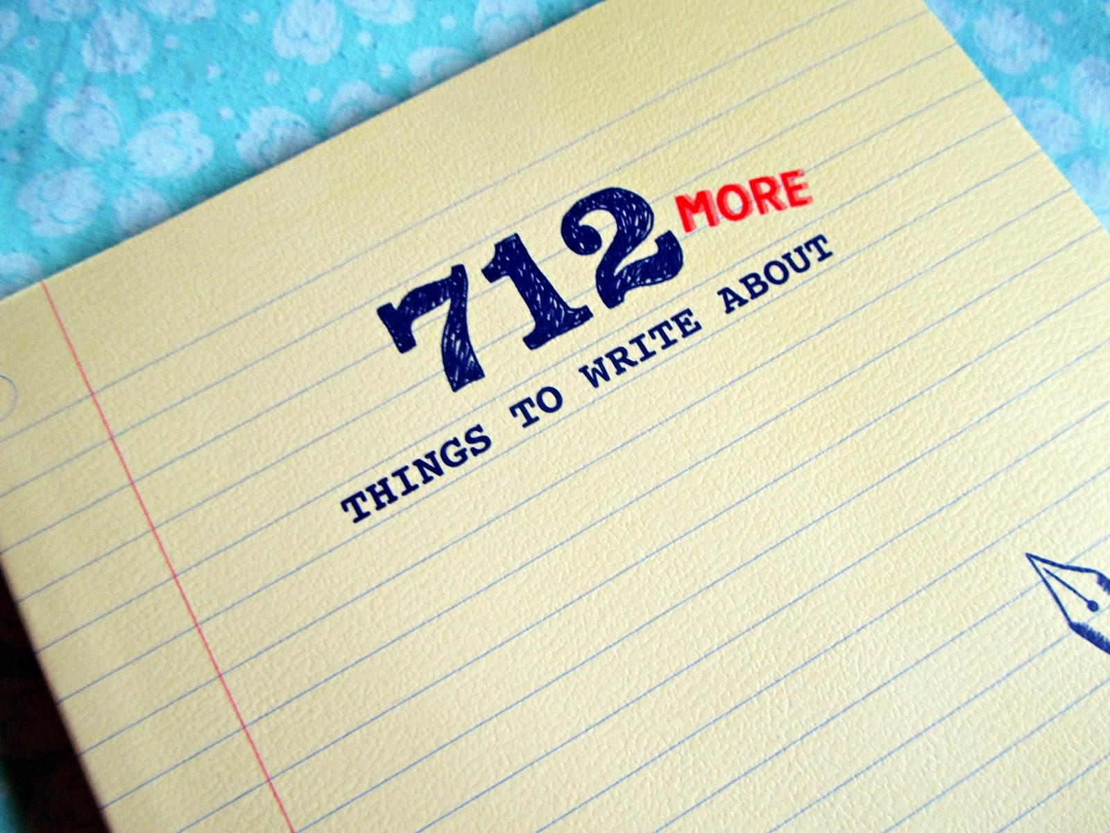 642 things to write about prompts for text