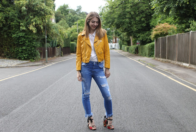 Yellow Zara Jacket