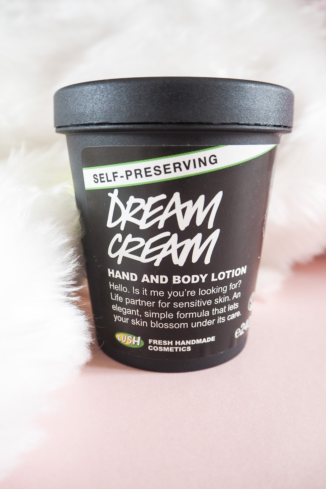 Lush Dream Cream Body Moisturiser Review - Post Shave Moisturiser for Legs