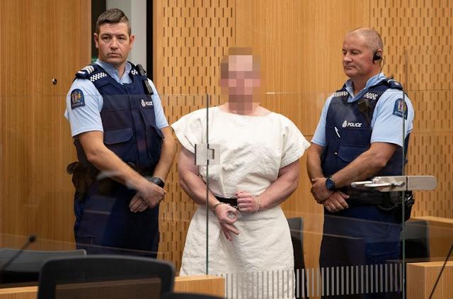 Pelaku Penembakan di Masjid New Zealand Didakwa Lakukan Pembunuhan