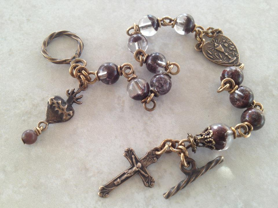 All Beautiful Catholic Beads Past Rosary Bracelets Gallery