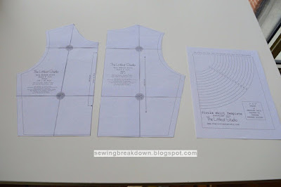 كيفية خياطة فستان كلوش بسيط بالخطوات