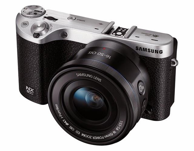 Fotografia della Samsung NX500