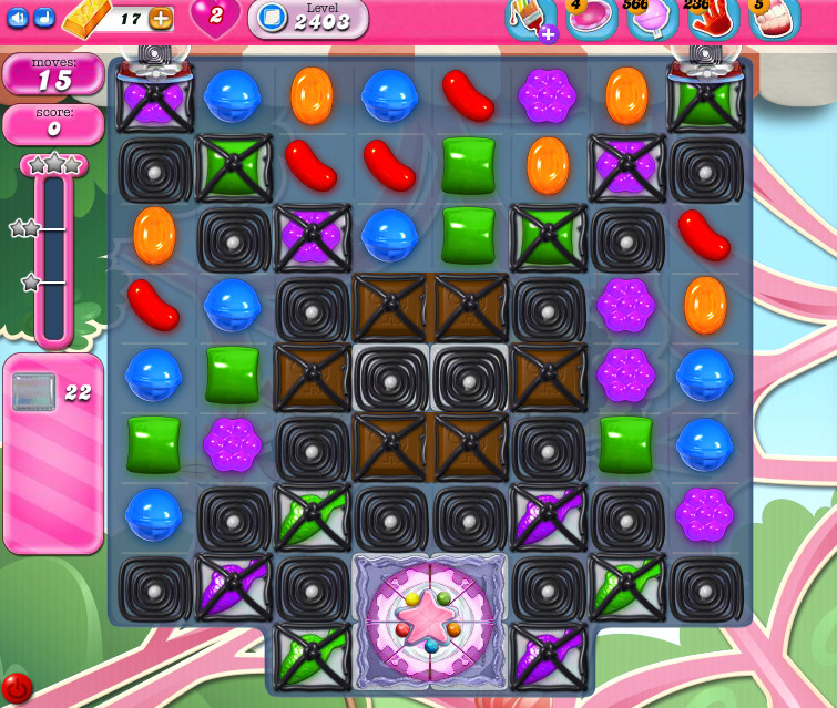 Candy Crush Saga level 2403