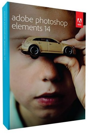 Adobe Photoshop Elements 14.1 portable poster box cover