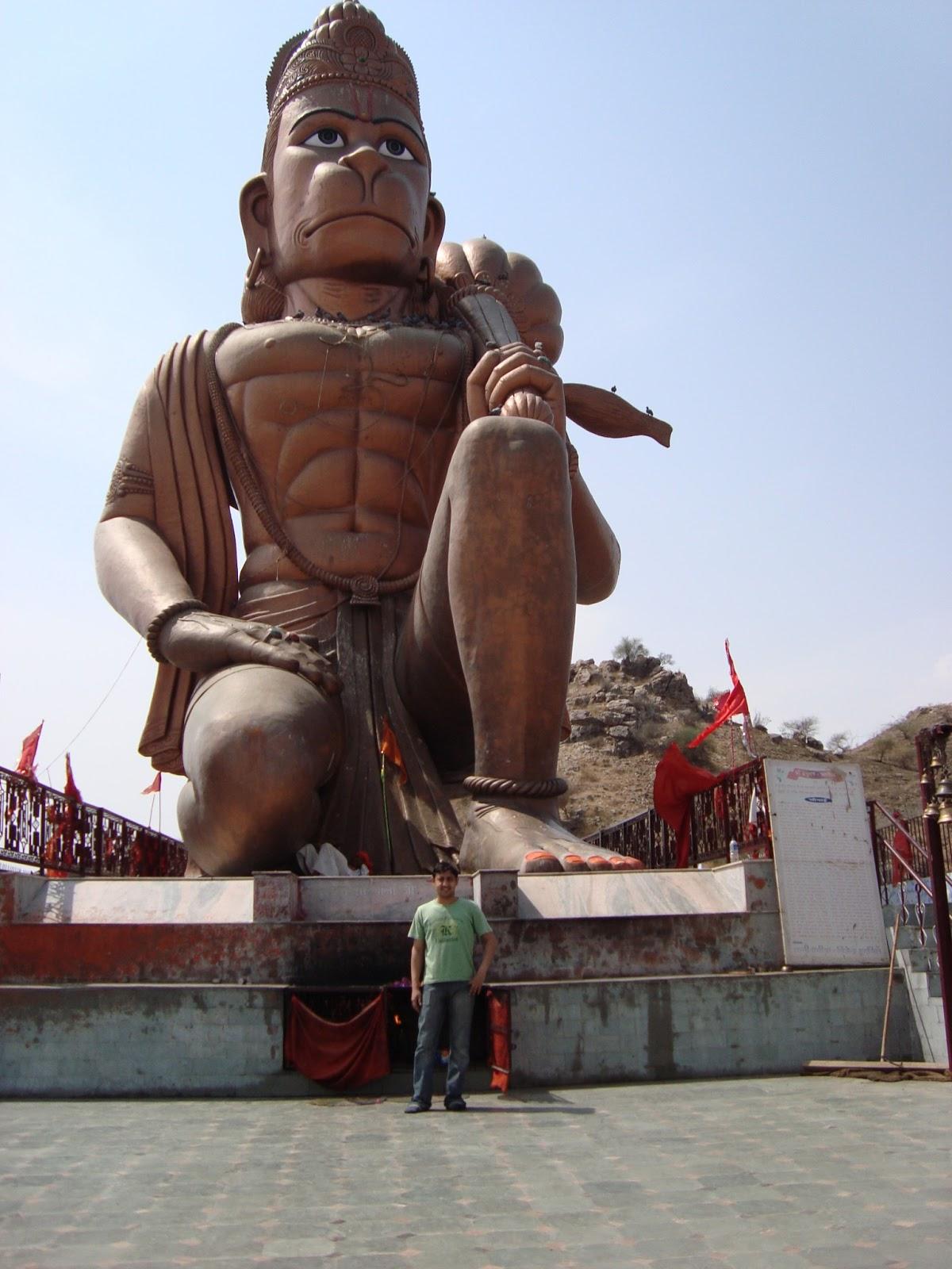 Suneet Yadav : Khalda wale Hanuman Ji -Lord Hanuman Statue