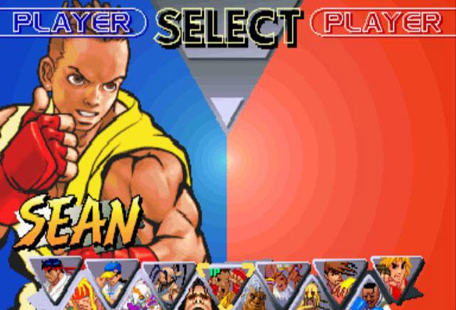 Street Fighter 3 Sean Matsuda