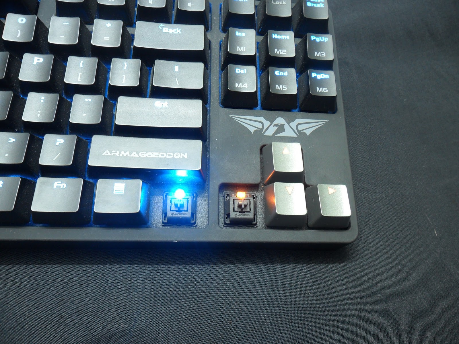 Unboxing & Review: Armaggeddon Black Hornet MKA-3 Mechanical Gaming Keyboard 13