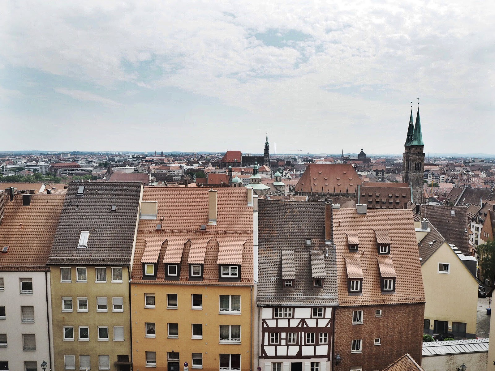 A view from Nuremberg Castle
