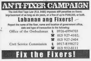 No to Fixer