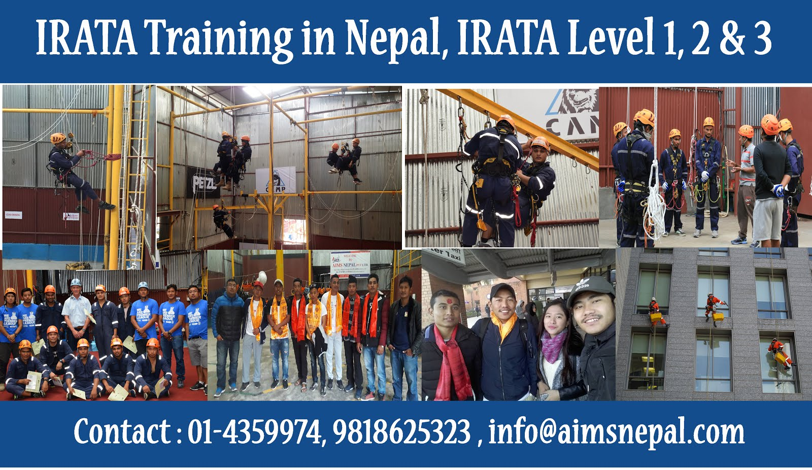 Rope Access Training in Nepal