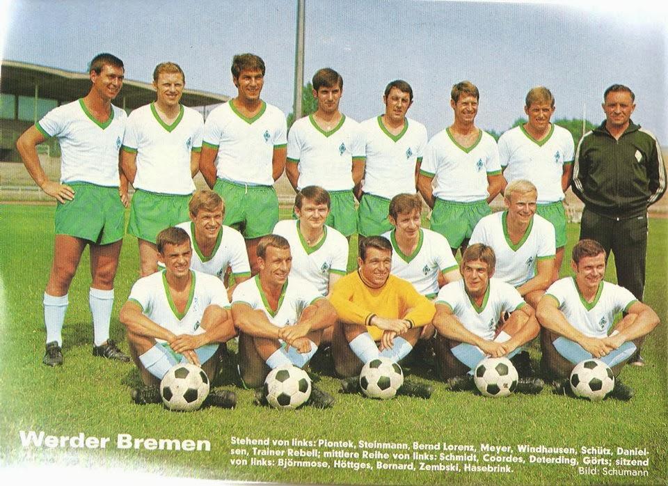 Resultado de imagem para werder bremen 1970