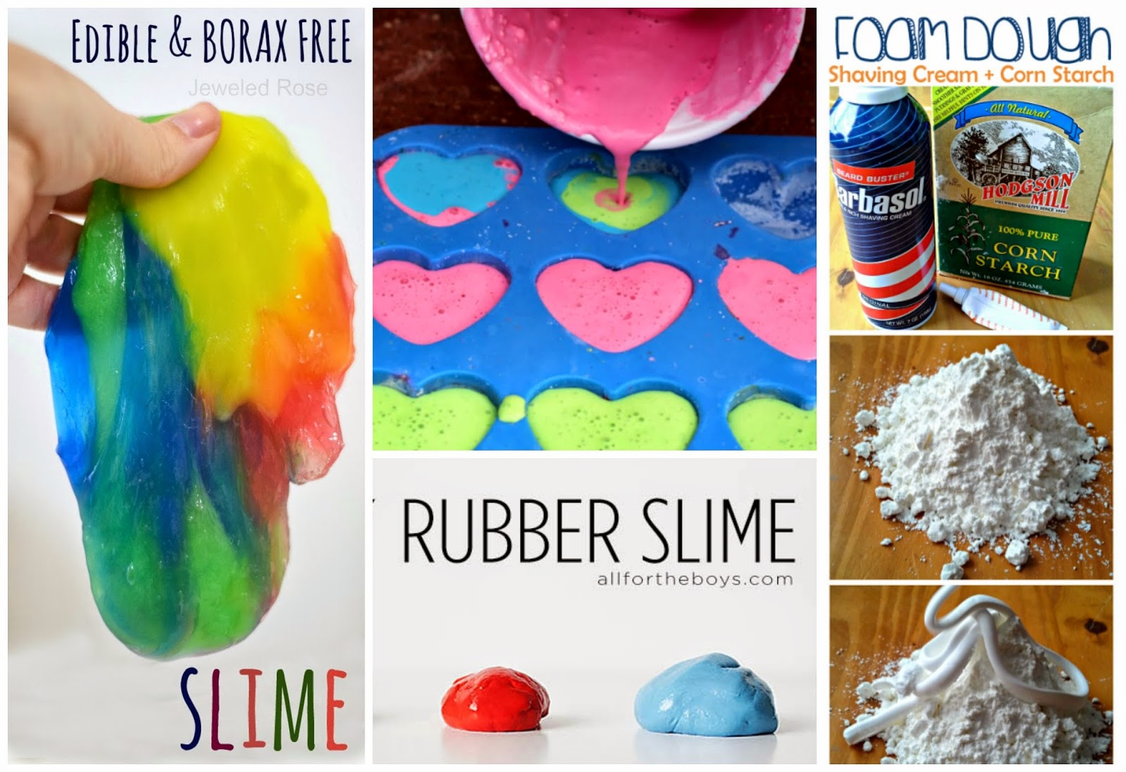 The best play recipes on Pinterest- so many fun ideas!
