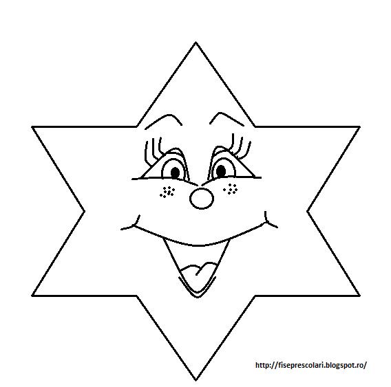 Planse Cu Stele De Colorat Pentru Copii 81 Fise De