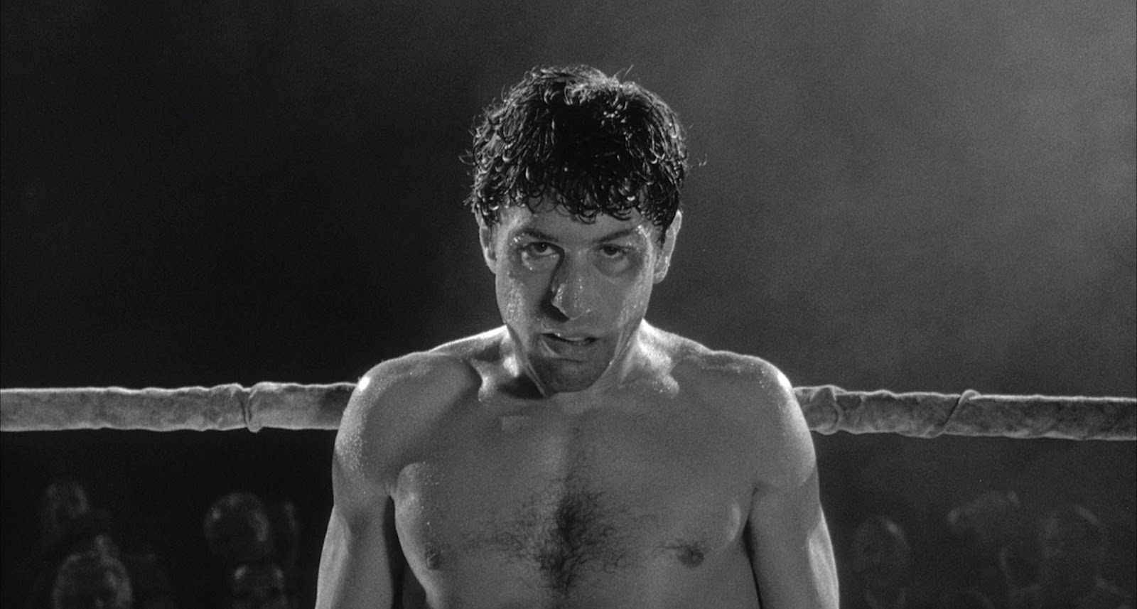Scorsese broke every rule in the book when shooting the fight scenes for raging bull he used fake smoke to evoke visual metaphors extended the ring