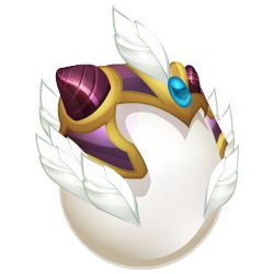Appearance of Hope Dragon when egg