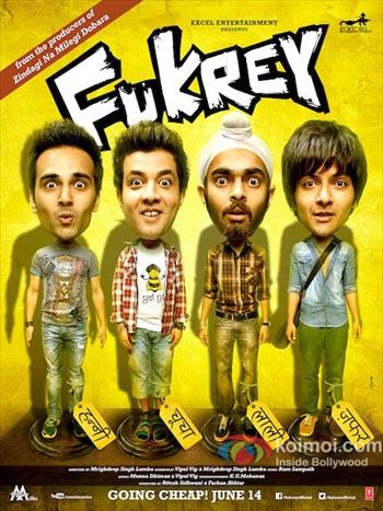 Fukrey 2013 Hindi Movie Download