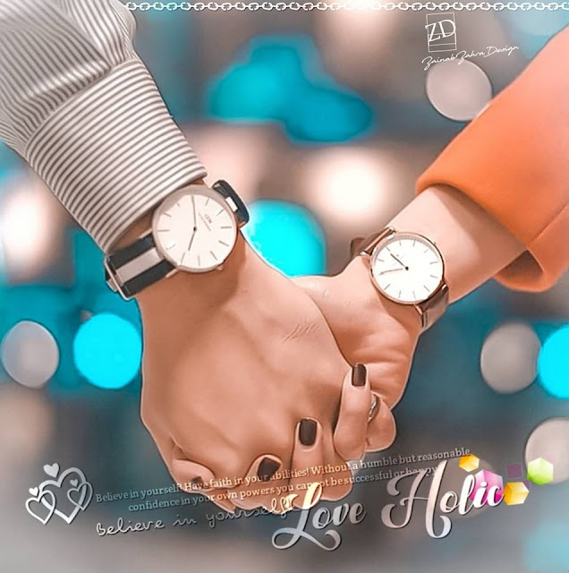 Couple Hold Hands