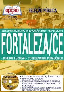 Apostila da Prefeitura de Fortaleza Seleção Pública SME para Coordenador pedagógico