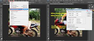 Redimensionar imagem photoshop